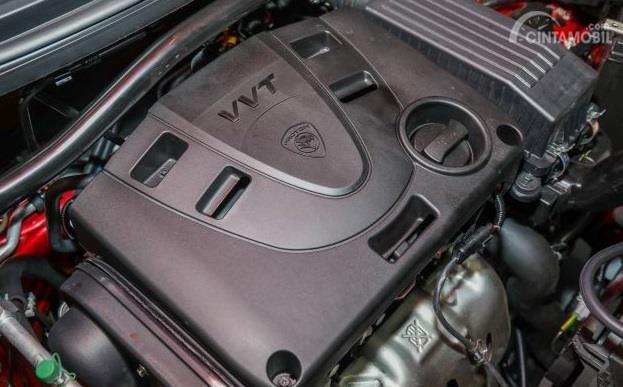 Mesin Proton Saga 2019 kurang cocok untuk diajak kebut-kebutan karena hanya punya daya sebesar 95 PS saja