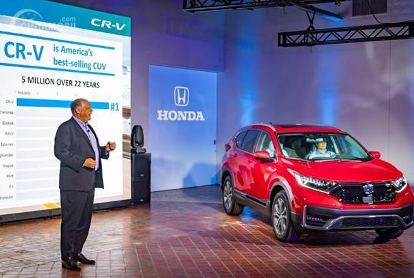 Peluncuran Honda CR-V 2020 dilakukan di Detroit dan diperkenalkan sebagai SUV Hybrid pertama Honda