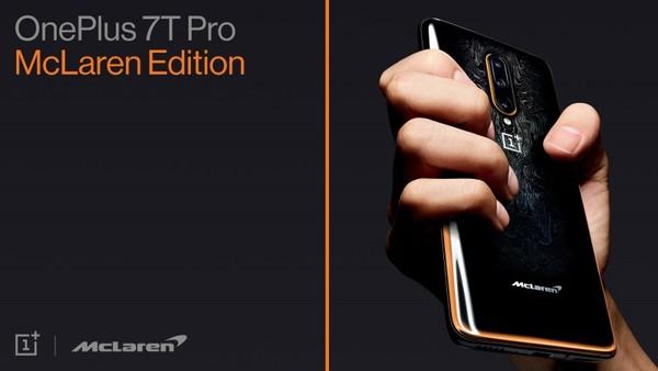 Foto smartphone OnePlus 7T Pro McLaren Edition