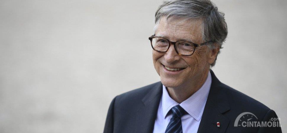 potret orang terkaya Bill Gates