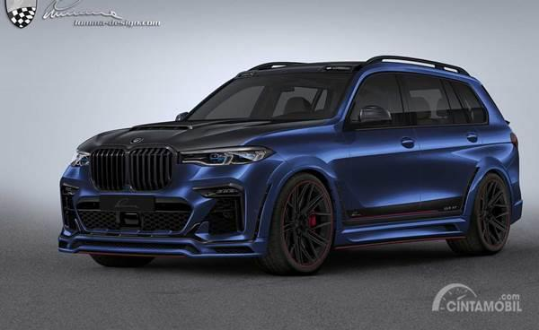 Modifikasi BMW X7 Lumma Design, Ceper dan Sangar