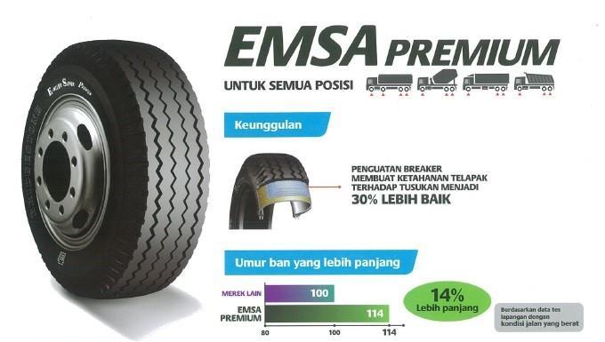 Bridgestone Indonesia Memperkenalkan Ban EMSA Premium di Indonesia
