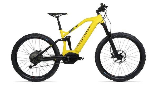 EM01 FS PowerTube: Sepeda Gunung Bertenaga Listrik Buatan Peugeot Yang Canggih