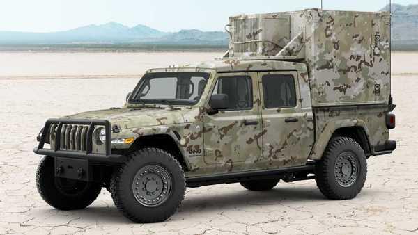 Foto Jeep Gladiator XMT Concept dengan spesifikasi khusus