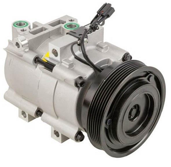 Kompresor AC Mobil berfungsi untuk memompa Freon agar bisa bersirkulasi ke seluruh komponen AC