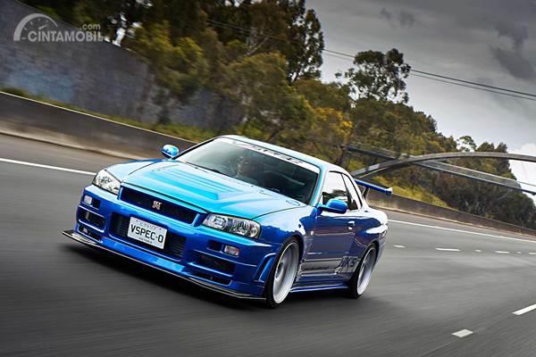 Modifikasi Nissan Skyline GT-R R34 V-Spec, Mengenang Masa Kecil