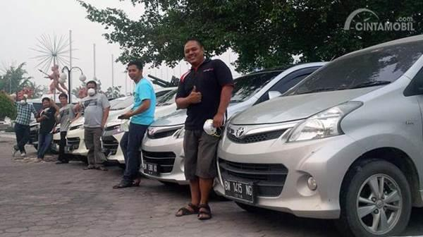 Velozity Chapter Riau Bantu Korban Kabut Asap
