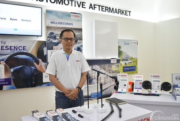 Decky Purhadi menjelaskan banyak hal terkait produk BOSCH yang berkaitan dengan otomotif