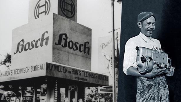 Sejarah BOSCH Di Indonesia dimulai di Surabaya pada tahun 1919 dengan nama Willem Van Rijn