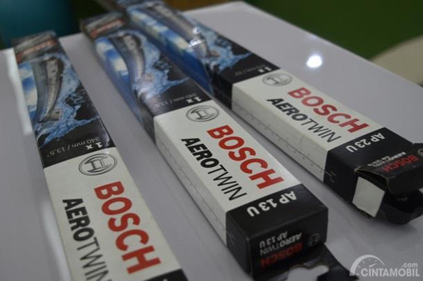Wiper BOSCH AeroTwin adalah produk terbaru yang punya fitur Power Protection Plus