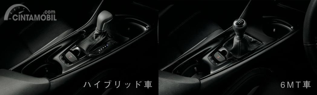 Gambar menunjukkan pilihan transmisi Toyota C-HR GR Sport 2019