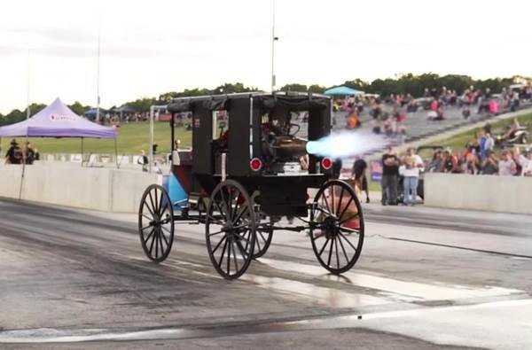 drag race kereta kencana