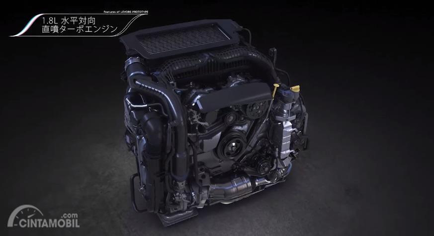 Mesin boxer 1,8 liter kepunyaan Subaru Levorg Concept
