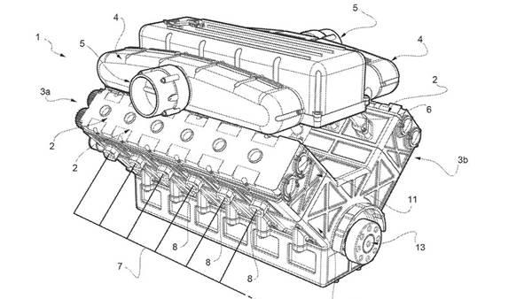 gambar paten mesin Ferrari