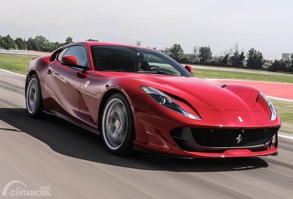 Mesin V12 Ferrari Bakal Lebih Hemat Bahan Bakar