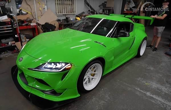 Tutorial Modifikasi Toyota Supra A90 Rocket Bunny