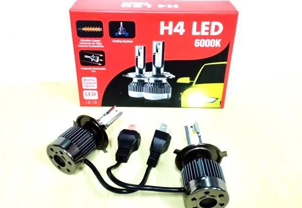 Lampu Wealthy H4 LED 6000K, Cahayanya Putih Terang Tapi Tembus Kabut