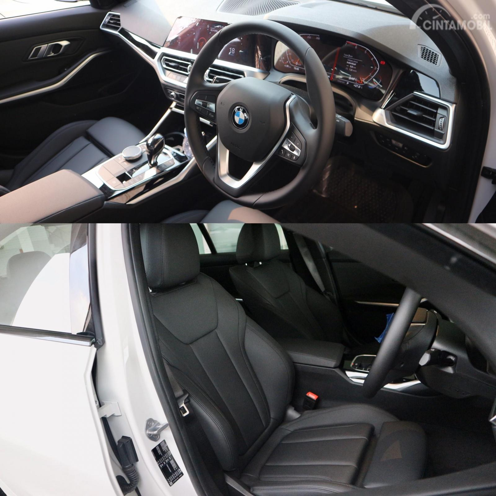 Foto interior All-New BMW 320i Sport (G20)