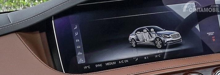 Foto sistem COMAND Online Mercedes-Benz S 450 L
