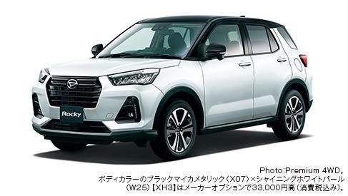 Gambar menunjukkan Daihatsu Rocky Premium 2019