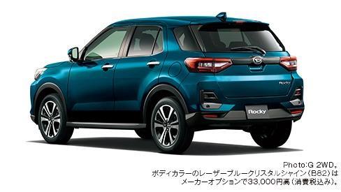Gambar menunjukkan Daihatsu Rocky G 2019