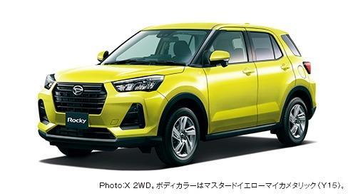 Gambar menunjukkan Daihatsu Rocky X 2019
