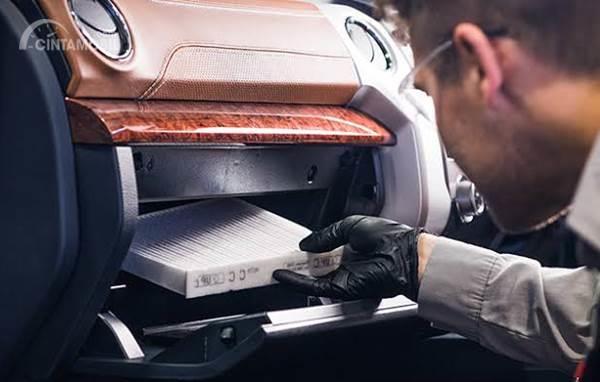 posisi filter kabin mobil