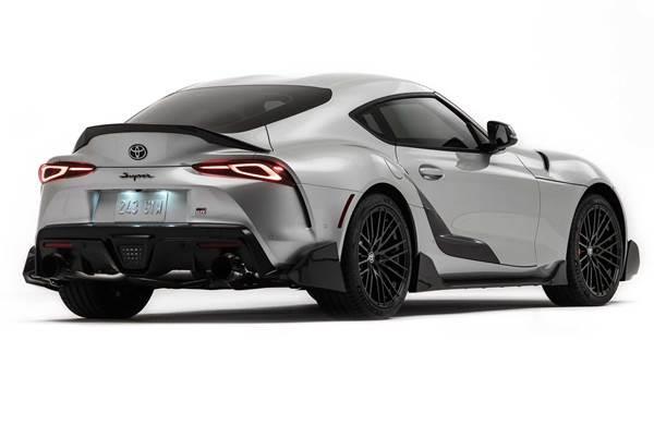 Toyota Supra SEMA 2019 back
