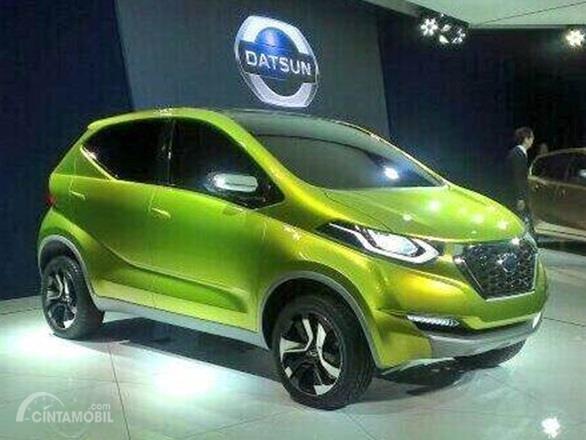 Datsun Redi-GO Concept pertama kali diperkenalkan di acara Auto Expo 2014