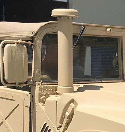 Foto snorkel di Humvee militer