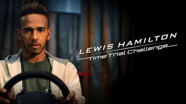 Foto Lewis Hamilton Time Trial Challenge di Gran Turismo Sport