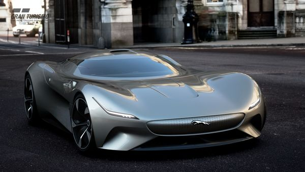 Foto Jaguar Vision Gran Turismo Coupe di Gran Turismo Sport