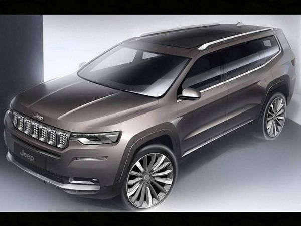 Foto Jeep 598, kode project untuk Jeep Compass 7-Seater