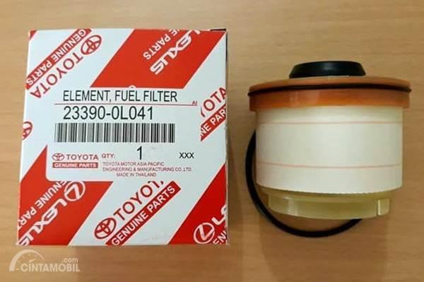 filter solar Toyota