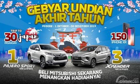 Promo gebyar undian akhir tahun Mitsubishi 2019
