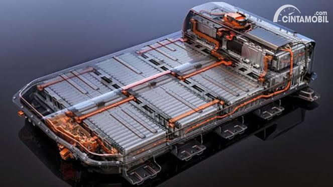 Contoh baterai mobil listrik