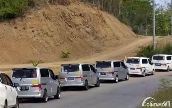 konvoi komunitas Nissan Evalia