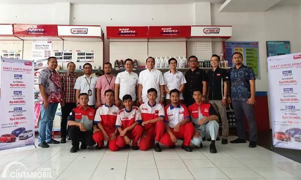 Promo Paket Servis Hemat Daihatsu dari Shop&Drive Buat Pelanggan di Palembang dan Pekanbaru