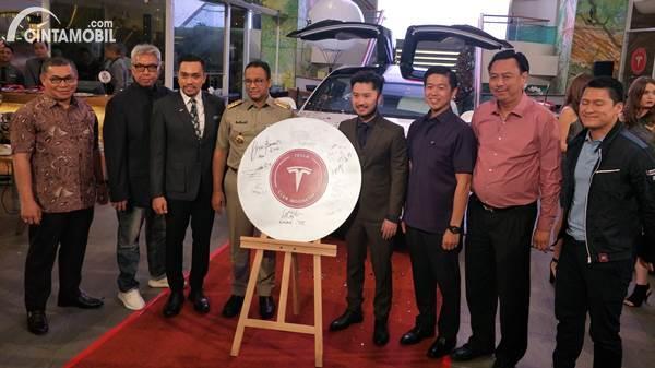 Resmi Dideklarasikan, Tesla Club Indonesia Ingin Masyarakat Hijrah ke Mobil Listrik