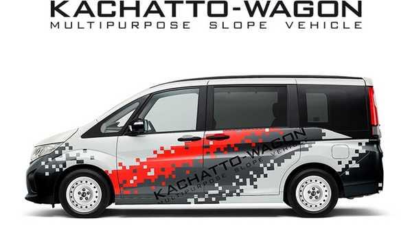 Foto Honda Kachatto-Wagon Concept