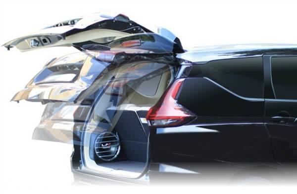 Pasang Power Back Door Mitsubishi Xpander, Gak Repot Lagi Buka Tutup Bagasi