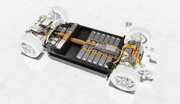 Foto baterai mobil listrik