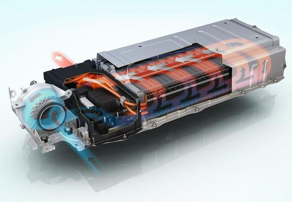 Foto teknologi cooling pada mobil listrik