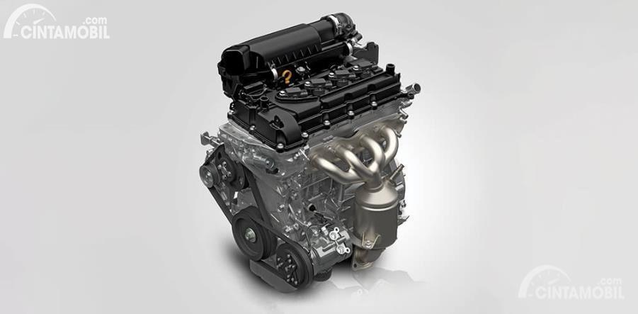 Gambar menunjukkan mesin K14B Suzuki New Baleno 2020