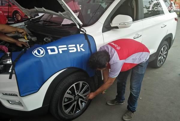 ada jaminan ketersediaan suku cadang dari DFSK