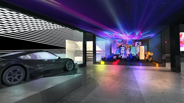Foto konsep booth Honda di Tokyo Auto Salon 2020