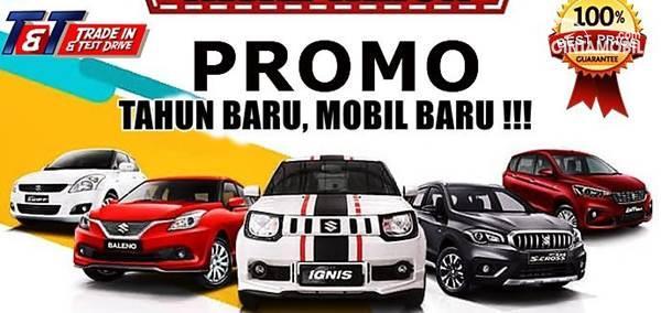 promo mobil baru Suzuki akhir tahun