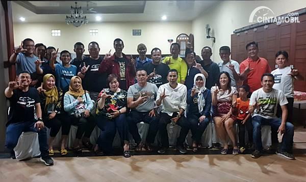 Ketua dan Pengurus Pasbro Indonesia region Lampung