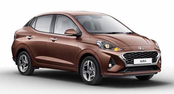Foto Hyundai Aura untuk pasar India