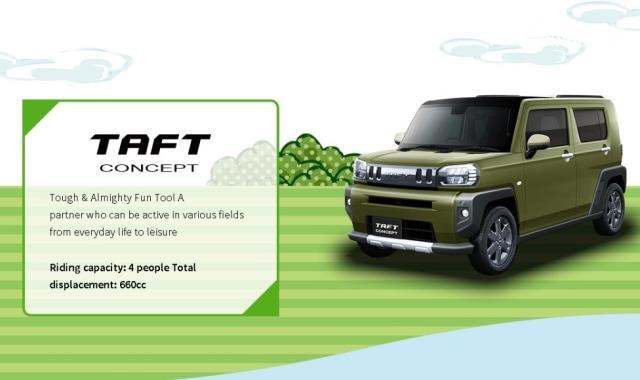 Daihatsu Taft Concept Bangkitkan Era Sukses Jip Daihatsu
